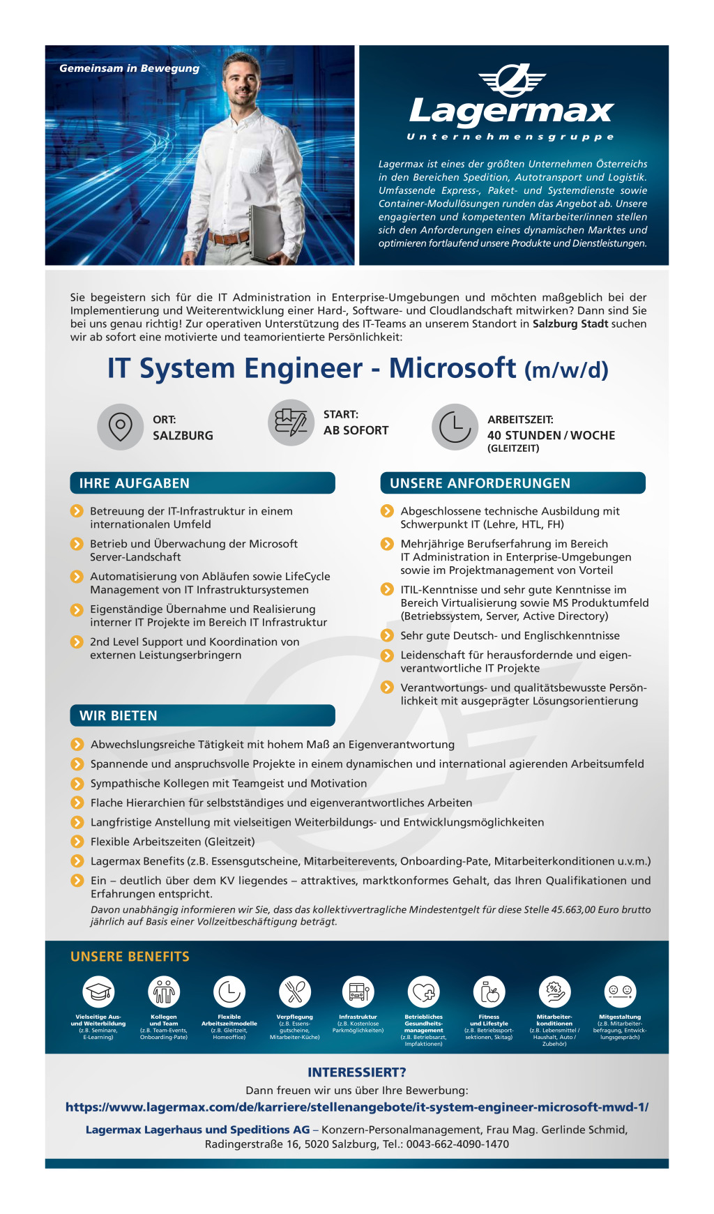 Lagermax IT System Engineer