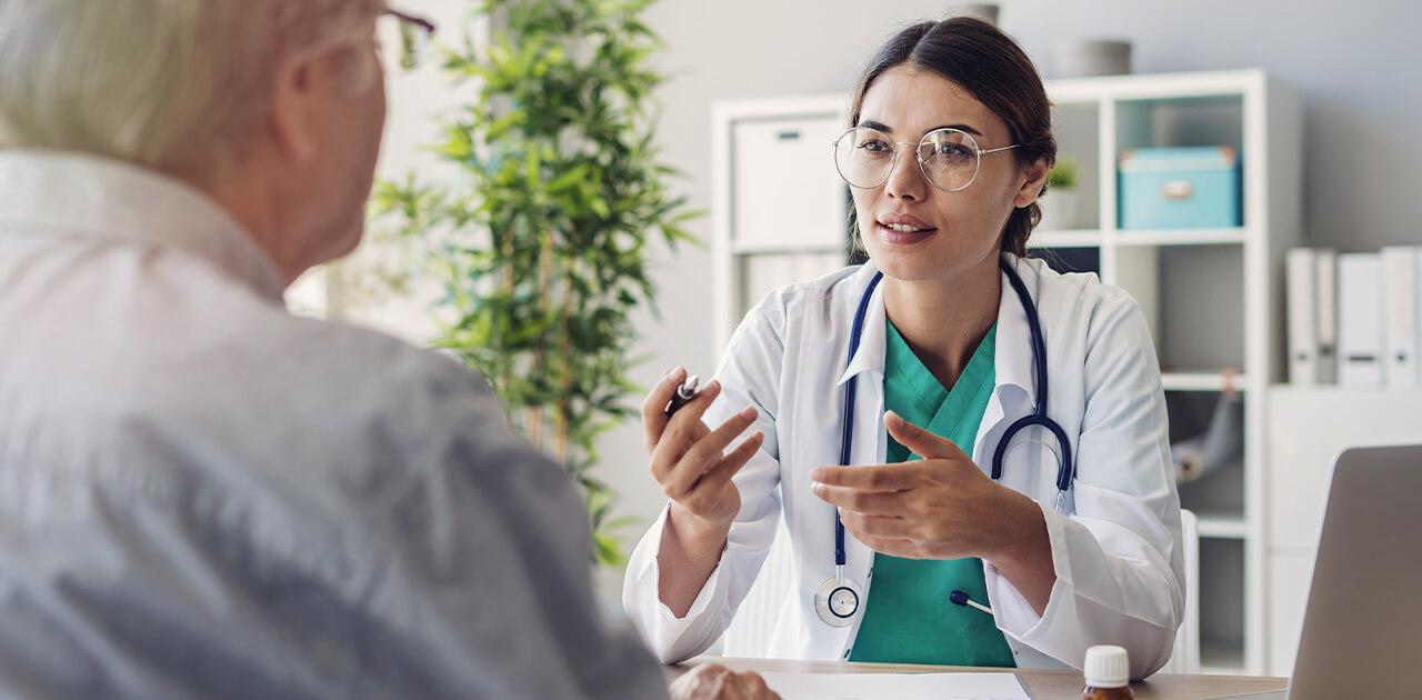 Was macht ein*e Ärzt*in?