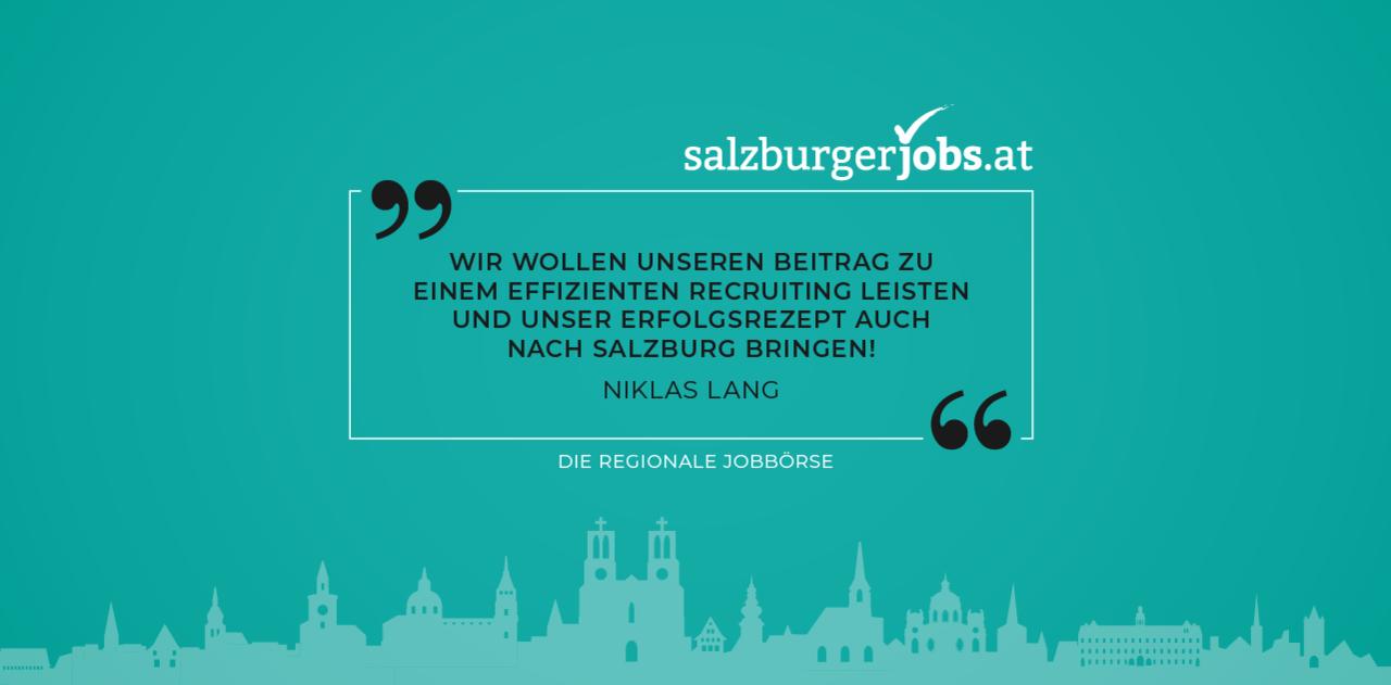 Die moderne Jobbörse für Salzburg im neuen Look